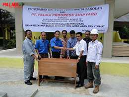 School Infrastructure Donation for SDN 007 (Elementary School), Sagulung, Batam Island