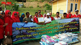 Donation for Earthquake Victims in Pidie Jaya, Aceh - Dec 2016